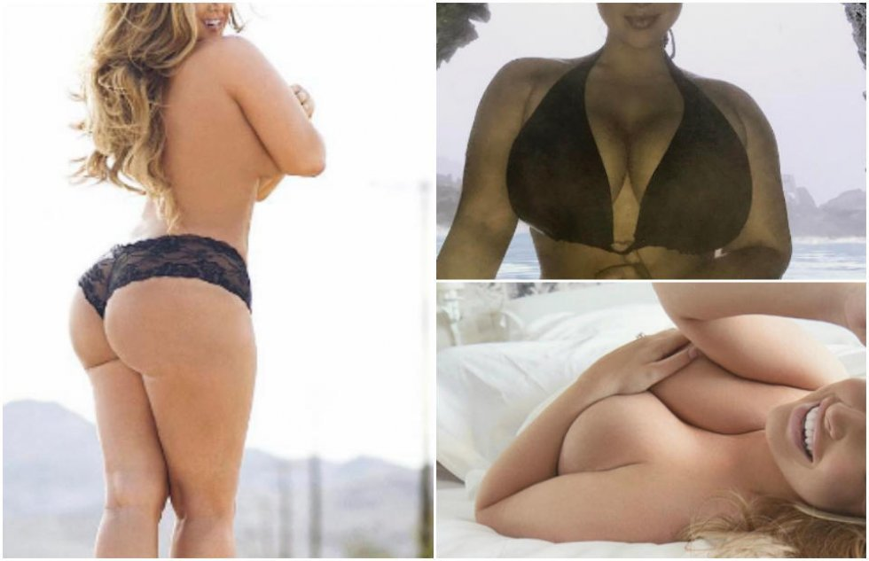Mandagsdamen Ashley Alexiss: Den vildeste plus-size-model med de mest vanvittige former