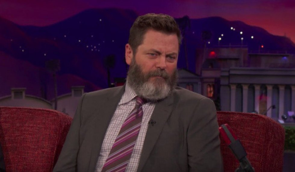 Nick Offerman og Chris Pratt blev beordret til at spise fed mad hele tiden under Parks and Recreation