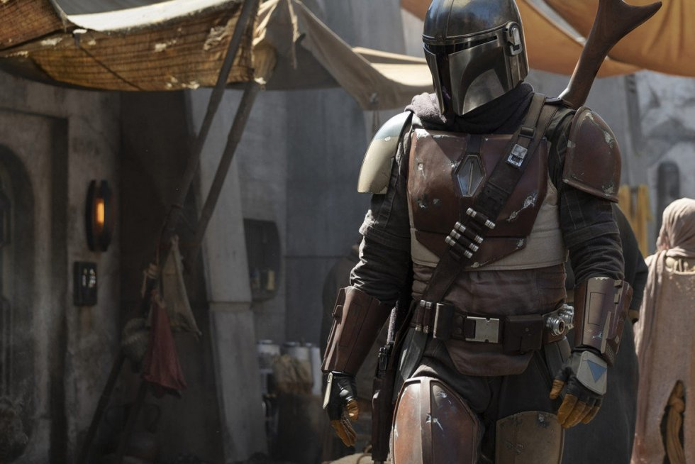Første smugkig på den nye liveaction Star Wars-serie, The Mandalorian