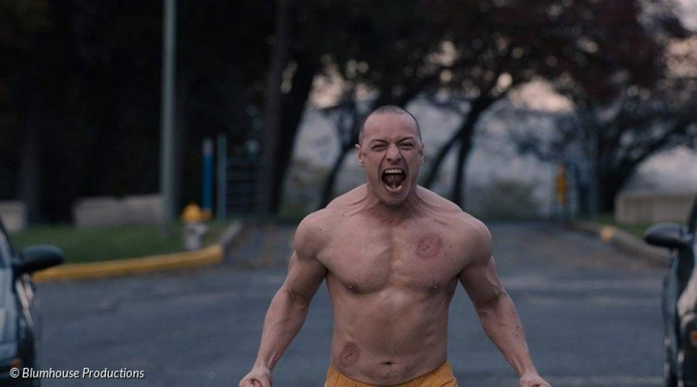 James McAvoy går beastmode i ny trailer til Glass