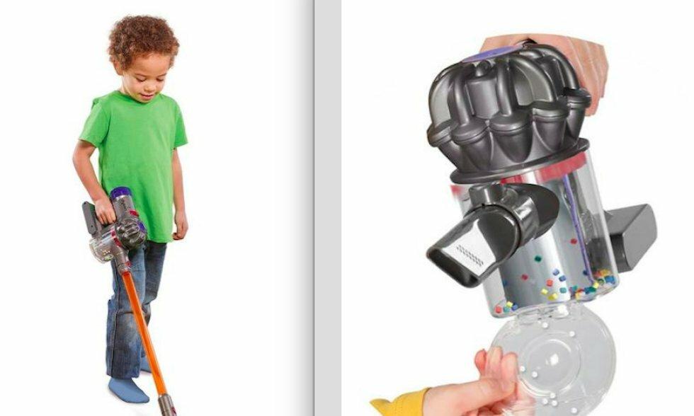 22e66af4 Slip for rengøringen: Dyson sælger legetøjsstøvsugere til børn, som ...