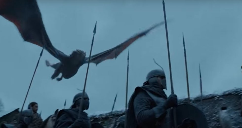 Mini-teaser til Game of Thrones viser Arya Stark og Drogon
