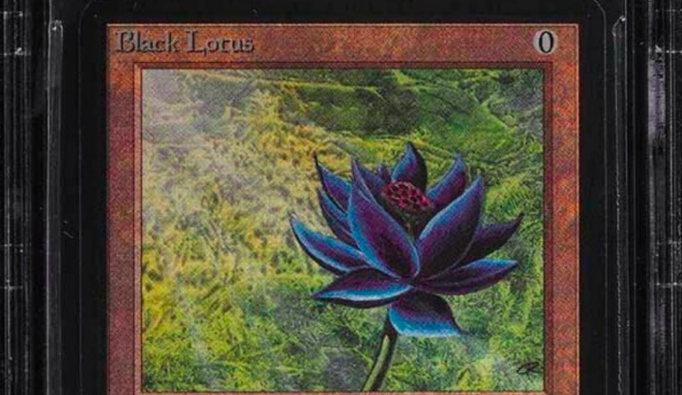 Ultrasjælden Black Lotus fra 'Magic: The Gathering' solgt for 1,1 millioner kroner