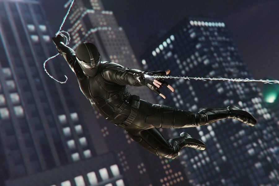 Dragterne fra Spider-Man: Far From Home er landet i Spider-Man PS4