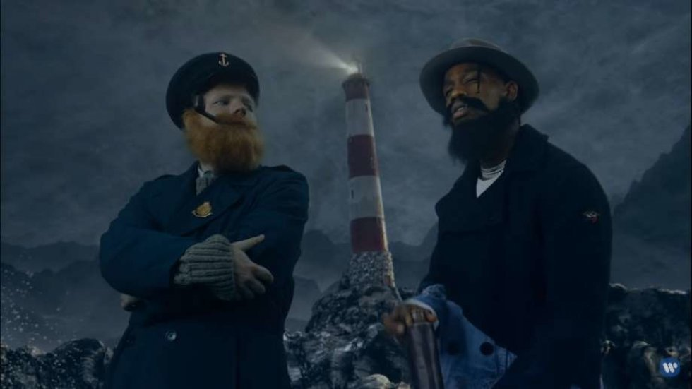 Ed Sheeran og Travis Scotts nye musikvideo er vanvittig