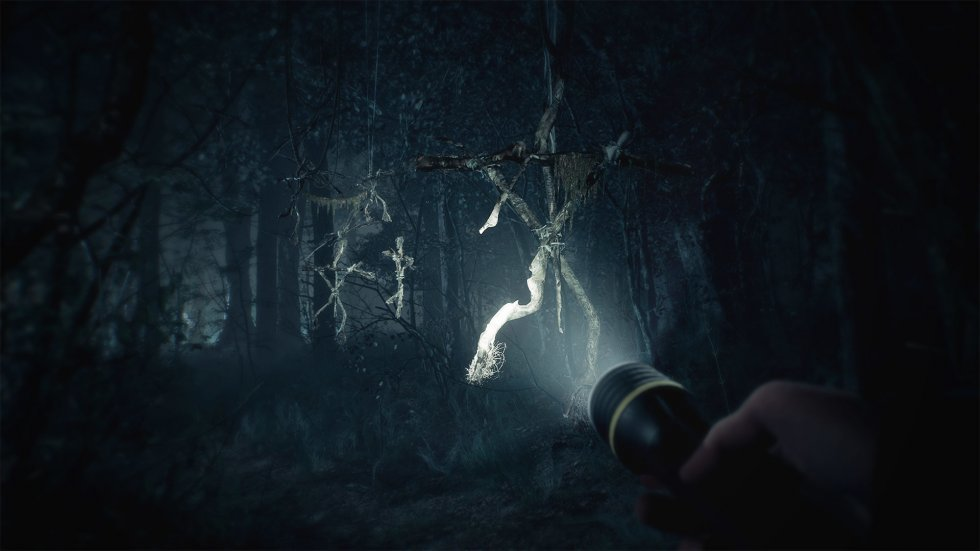 Første gameplay-trailer til gyserspillet baseret på Blair Witch