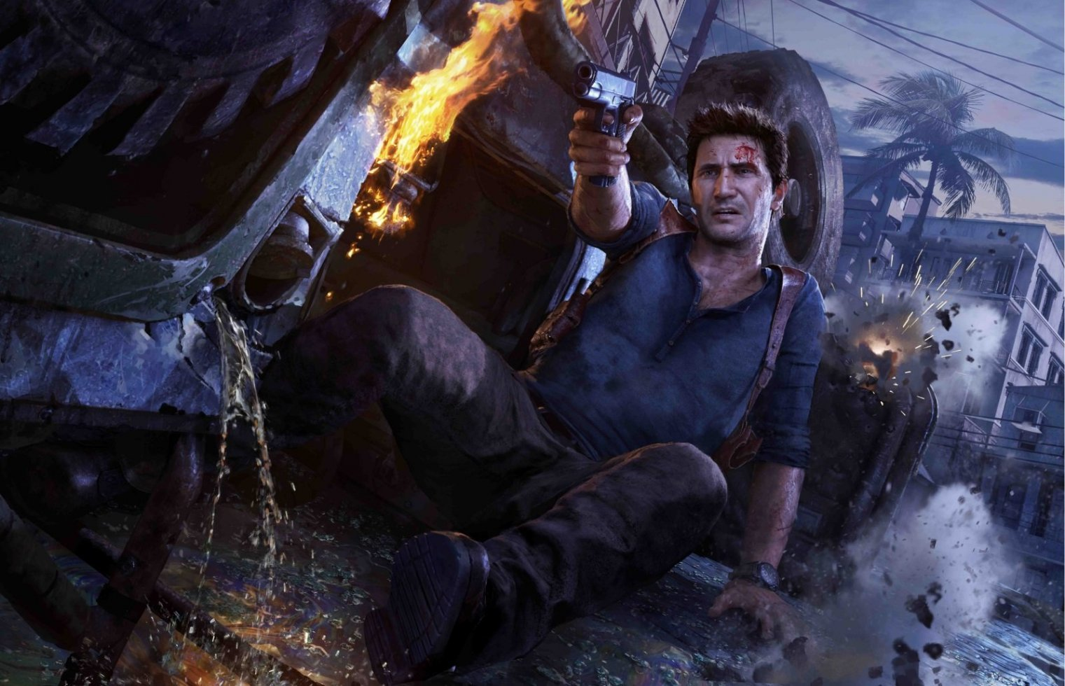 Uncharted 4 rammer PS Plus