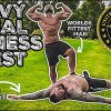 World?s Strongest Man Tries Navy Seal Fitness Test | Passes?! - Strongman Eddie Hall prøver kræfter med Navy SEAL fitness-test