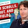 Todd Howard Talks Starfield, Elder Scrolls 6, Fallout 76, Terminator, and More! - IGN Unfiltered #43 - Bethesdas Todd Howard siger at det nye Elder Scrolls vil levere gameplay i et helt årti