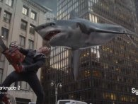 Trailer til Sharknado 2? Arhmen, for helvede da
