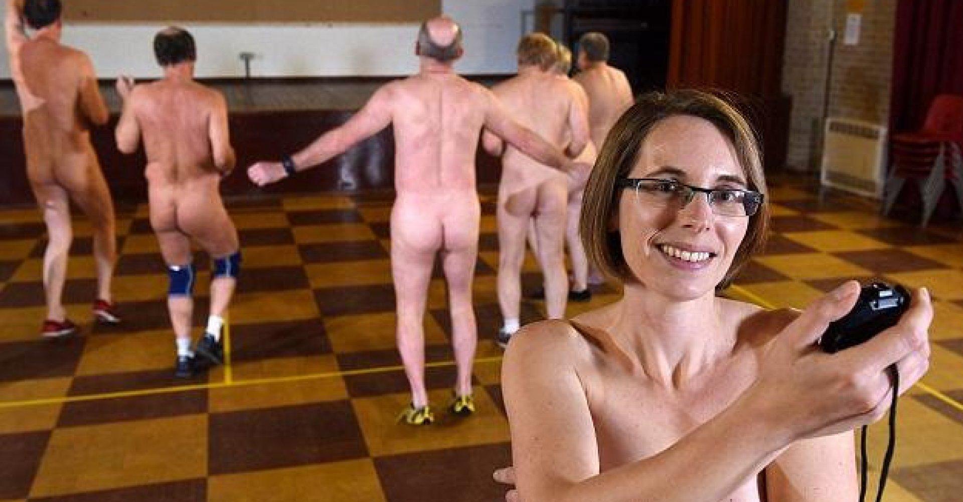Arnborg fitness damer uden tøj på