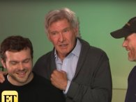 Harrison Ford crasher interview for at smide den nye Han Solo ud