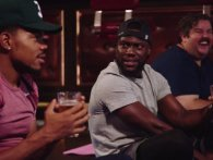 Kevin Hart dyrker øl-yoga med Chance the Rapper