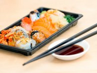 Triatlet bandlyst fra sushi-restaurant for at spise for fem mennesker til sine gains
