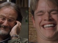 Den sjoveste scene i Good Will Hunting var improviseret af Robin Williams