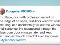 Jimmy Fallon læser tweets: #MyTeacherIsWeird