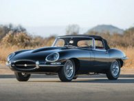 Retroslæde: 1961 Jaguar E-Type Series 1
