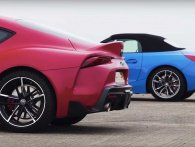 Dragrace: Toyota Supra vs BMW Z4